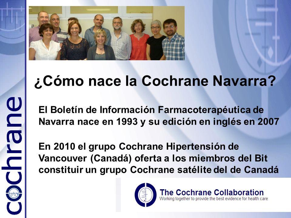 ¿Cómo nace la Cochrane Navarra