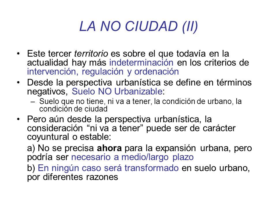 LA NO CIUDAD (II)