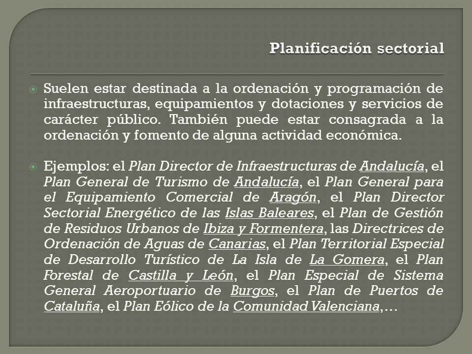 Planificación sectorial