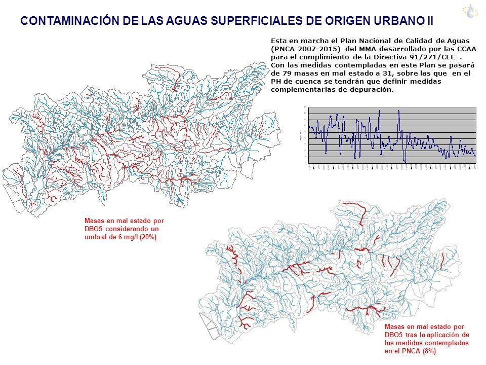 CONTAMINACIÓN DE LAS AGUAS SUPERFICIALES DE ORIGEN URBANO II