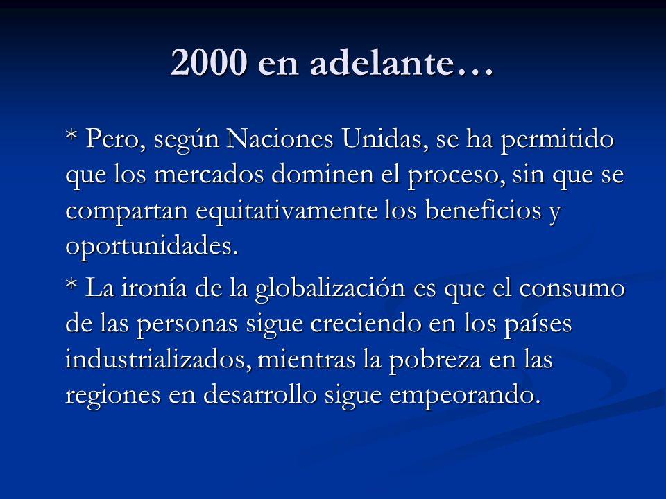 2000 en adelante…