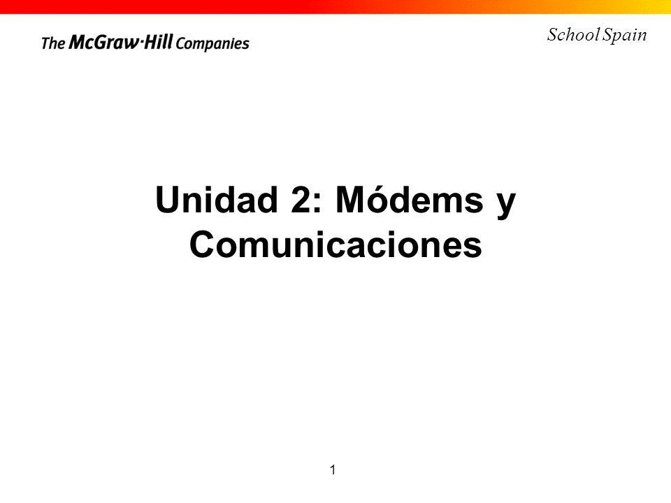 Unidad 2: Módems y Comunicaciones