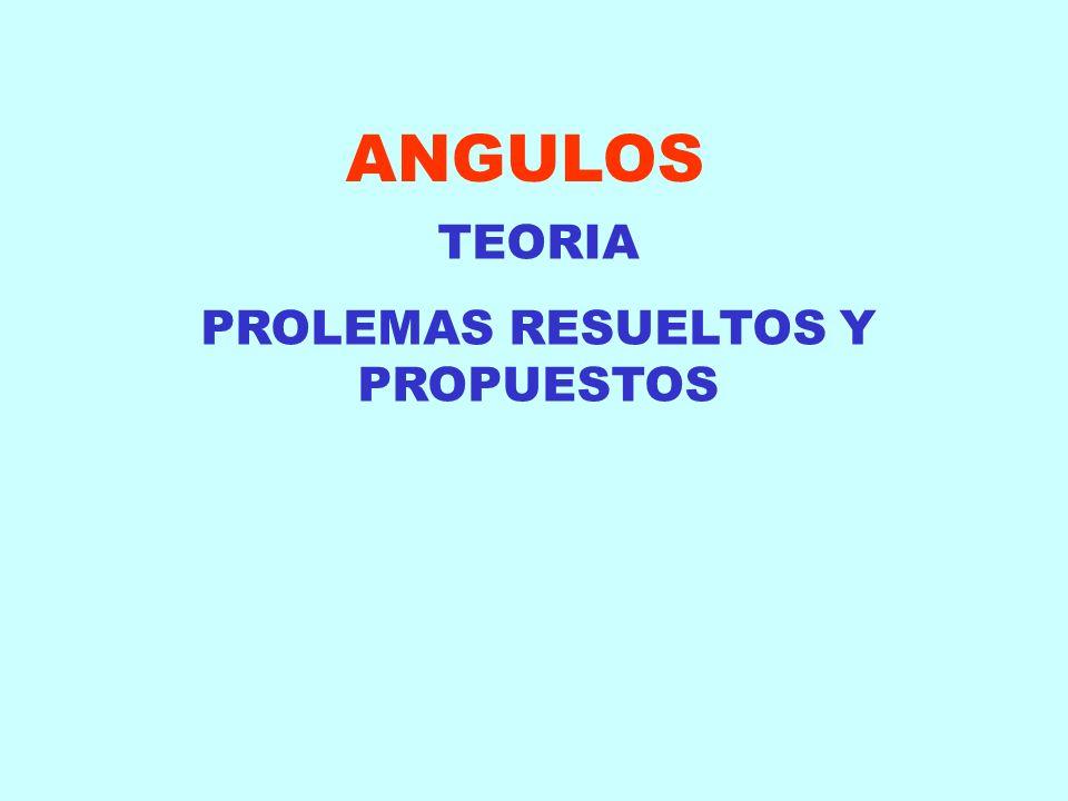 PROLEMAS RESUELTOS Y PROPUESTOS