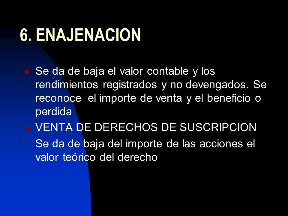 6. ENAJENACION