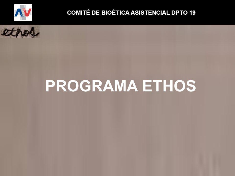 COMITÉ DE BIOÉTICA ASISTENCIAL DPTO 19