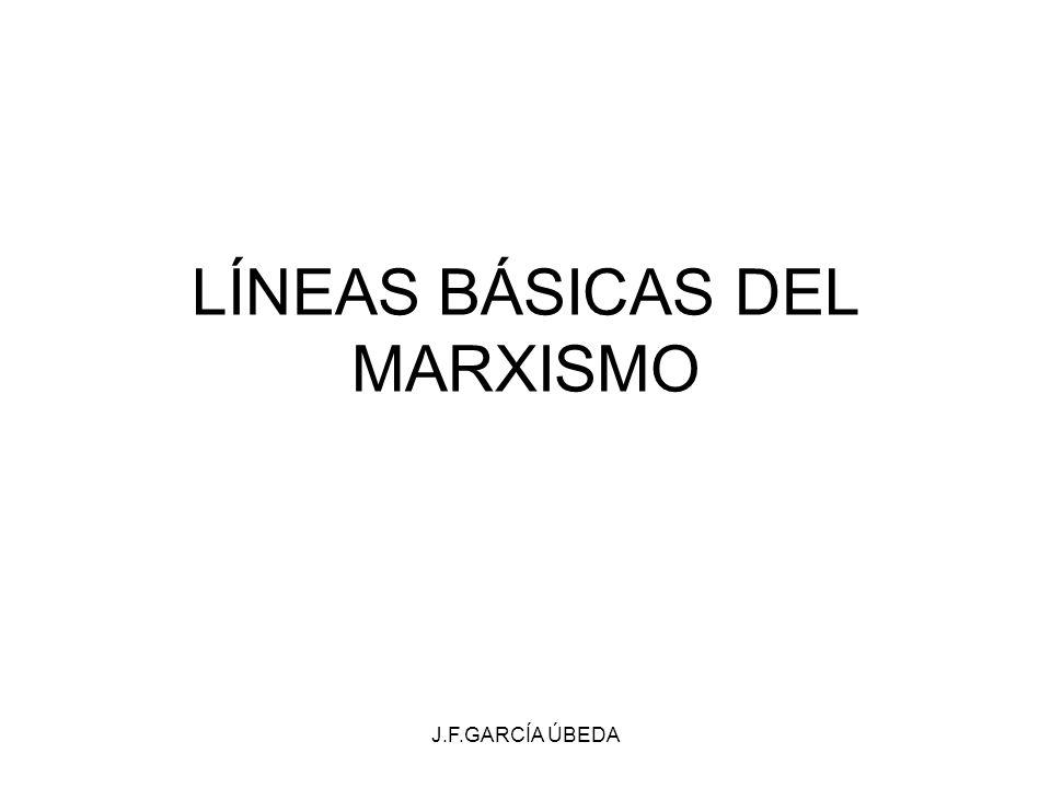 LÍNEAS BÁSICAS DEL MARXISMO