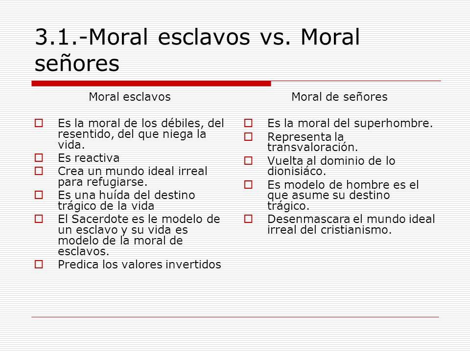 3.1.-Moral esclavos vs. Moral señores