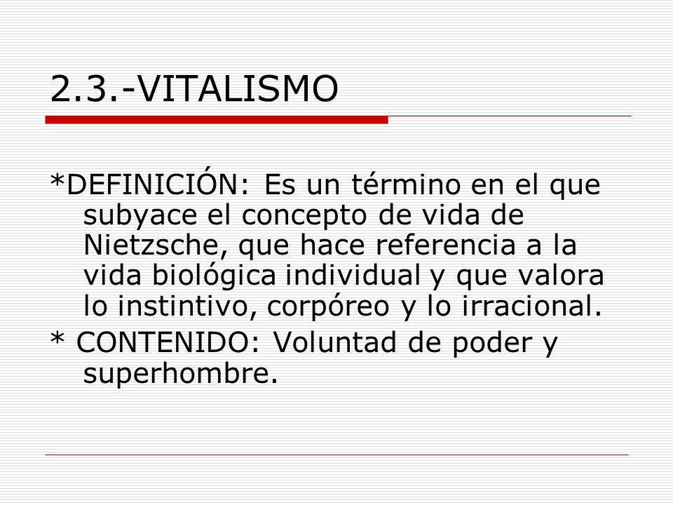 2.3.-VITALISMO