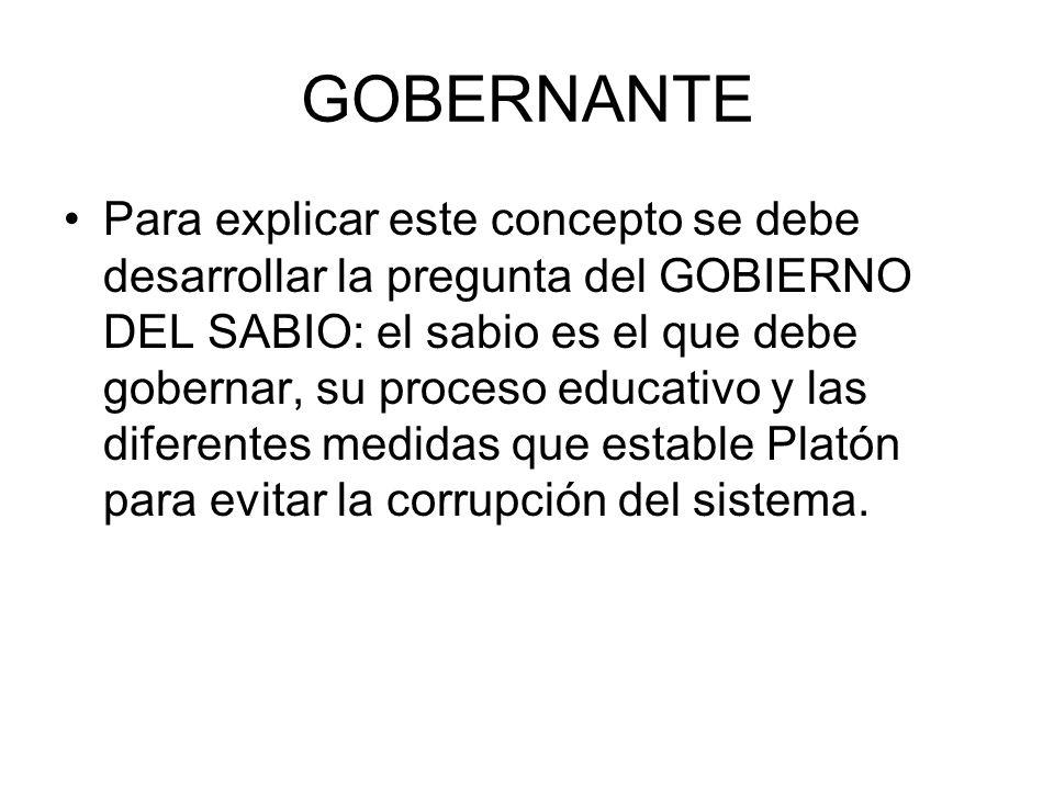 GOBERNANTE