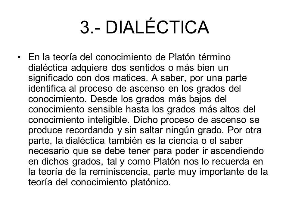 3.- DIALÉCTICA