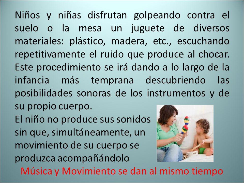 Música y Movimiento se dan al mismo tiempo