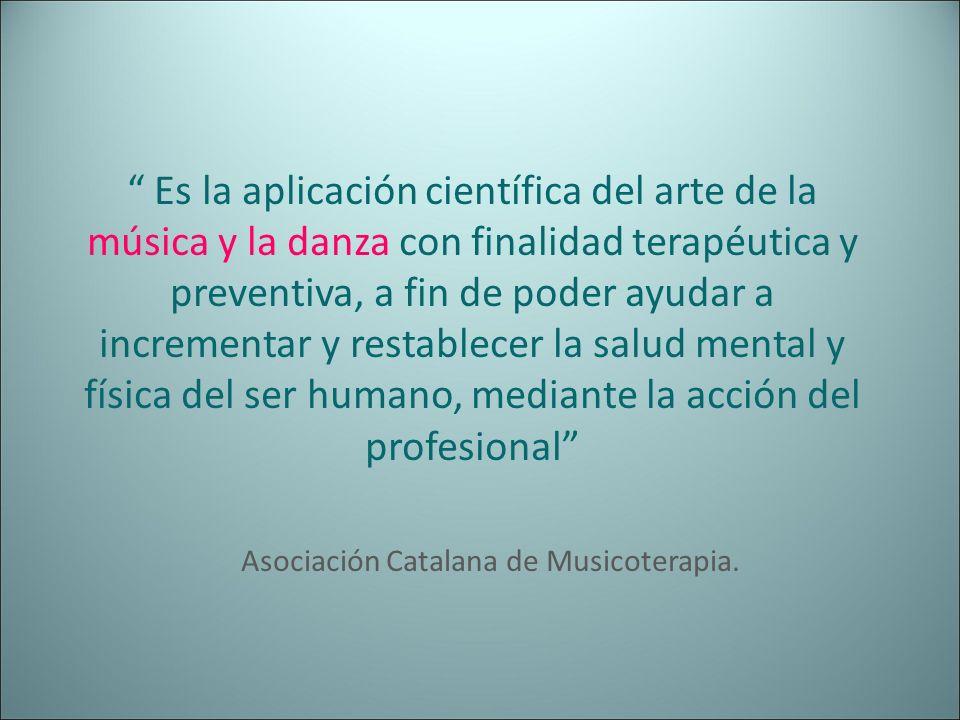 Asociación Catalana de Musicoterapia.