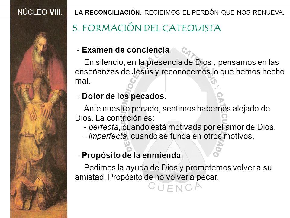 5. FORMACIÓN DEL CATEQUISTA