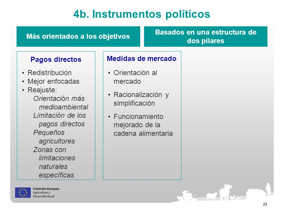 4b. Instrumentos políticos