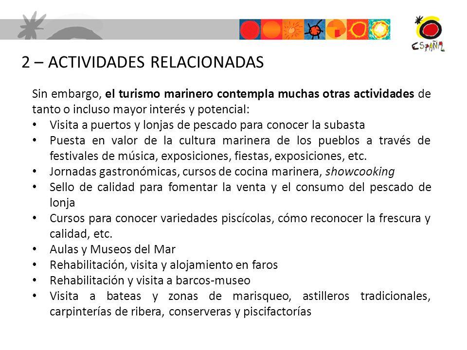 2 – ACTIVIDADES RELACIONADAS