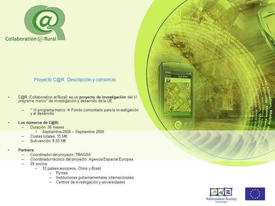 Proyecto C@R. Descripción y consorcio