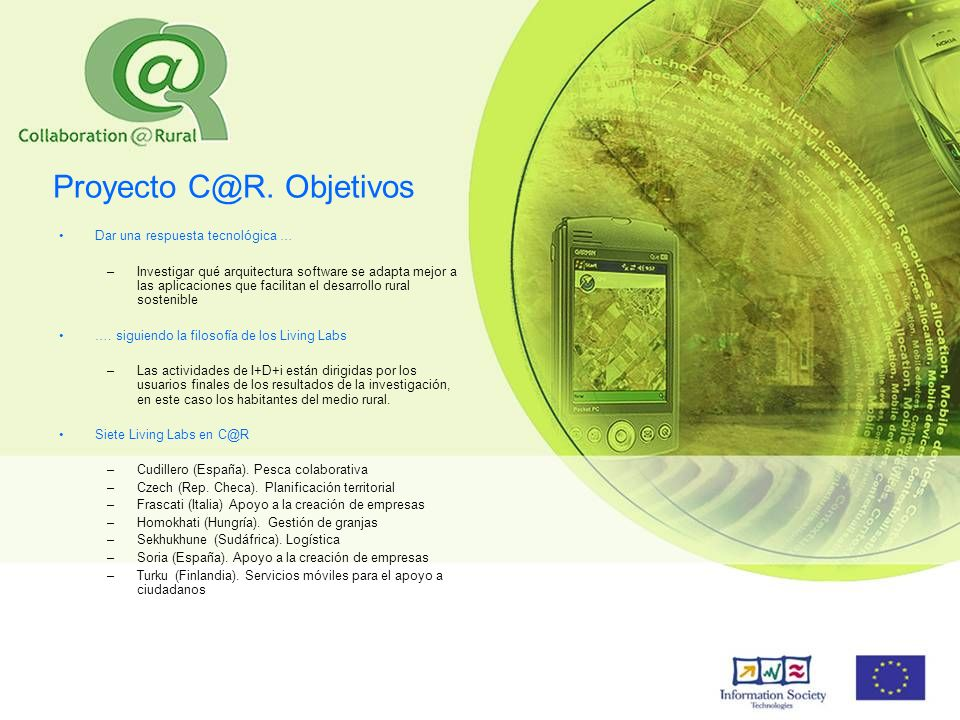 Proyecto C@R. Objetivos