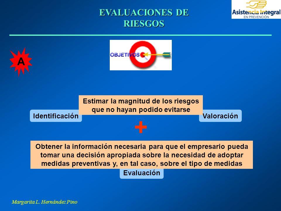 + A EVALUACIONES DE RIESGOS