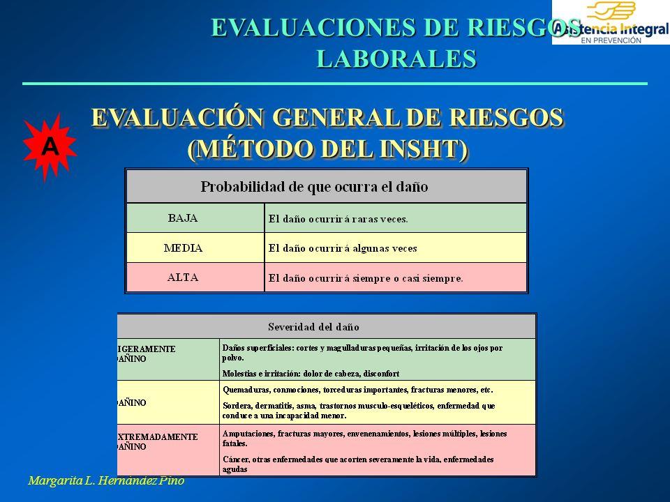 EVALUACIONES DE RIESGOS LABORALES