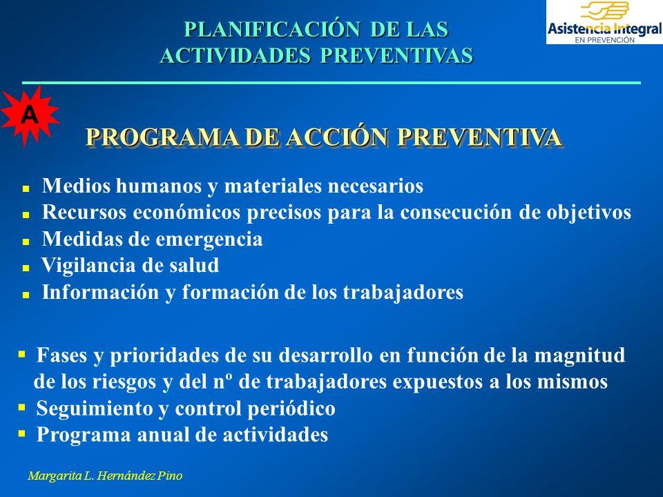 PROGRAMA DE ACCIÓN PREVENTIVA
