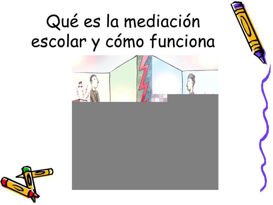 Qué es la mediación escolar y cómo funciona