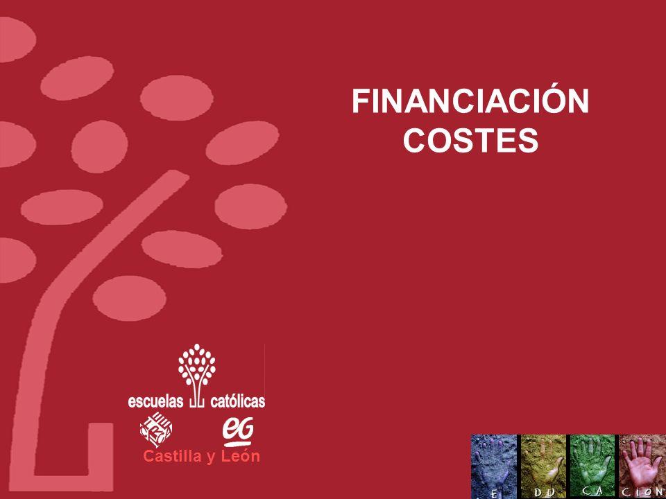 Castilla y León FINANCIACIÓN COSTES