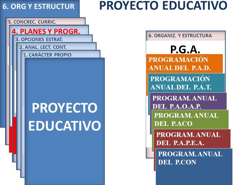 PROYECTO EDUCATIVO PROYECTO EDUCATIVO P.G.A.