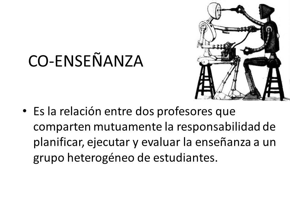 CO-ENSEÑANZA