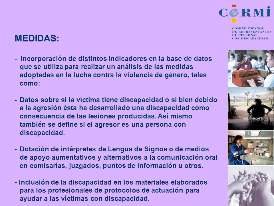 MEDIDAS: