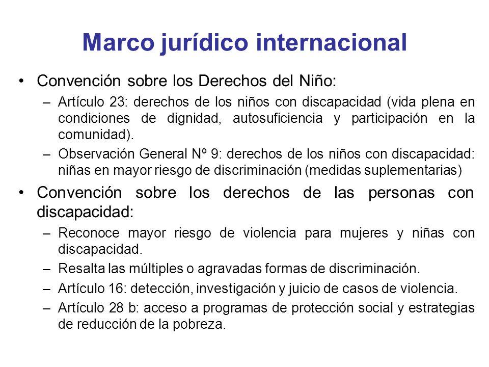 Marco jurídico internacional