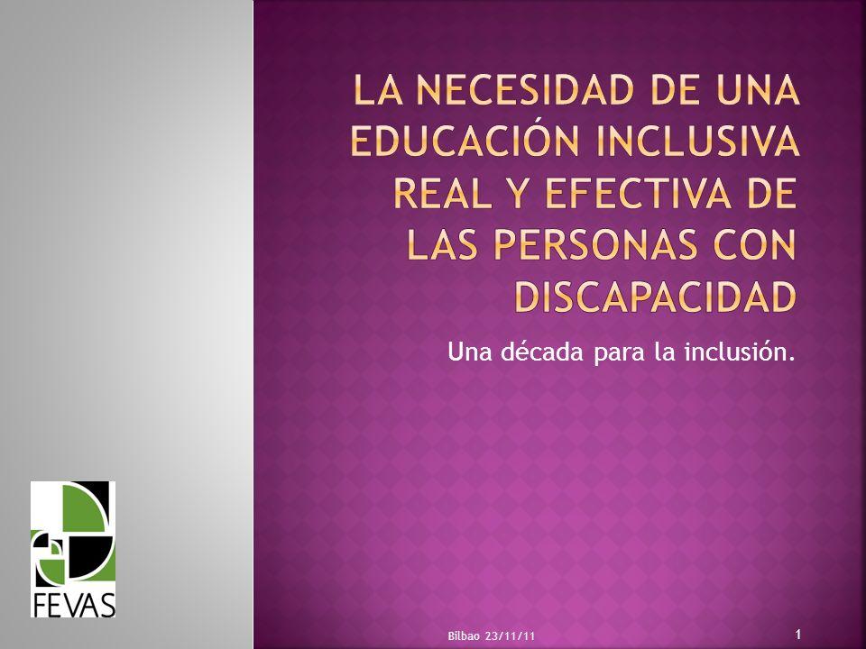 Una década para la inclusión.