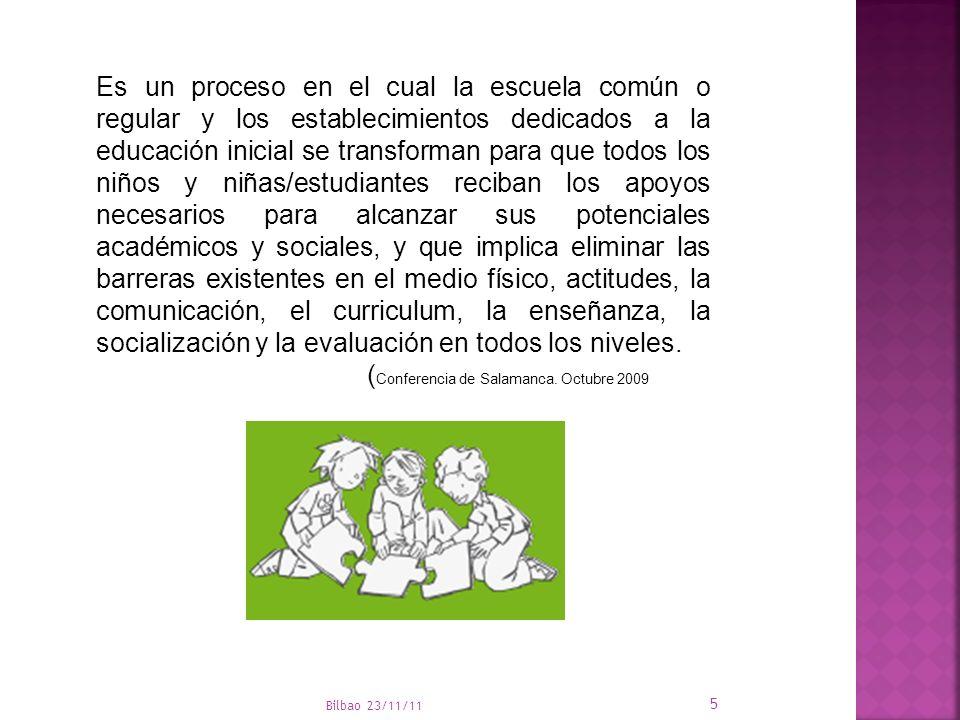 (Conferencia de Salamanca. Octubre 2009