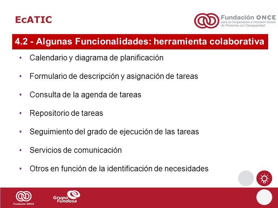 4.2 - Algunas Funcionalidades: herramienta colaborativa