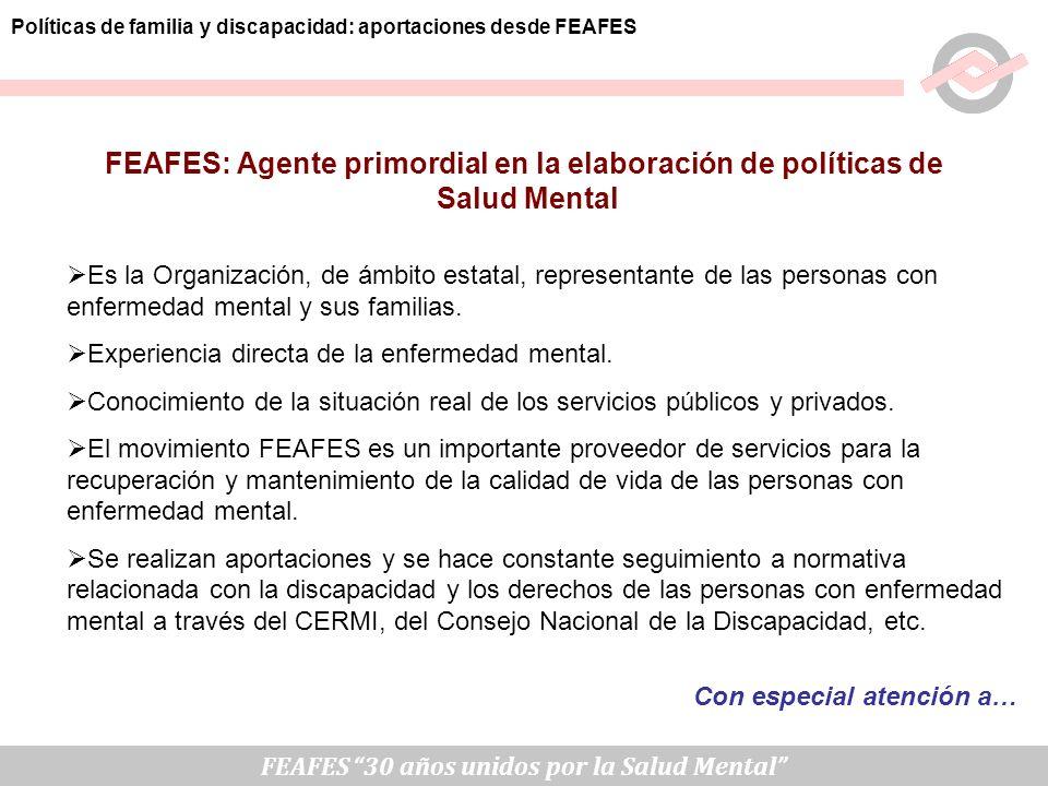 FEAFES: Agente primordial en la elaboración de políticas de