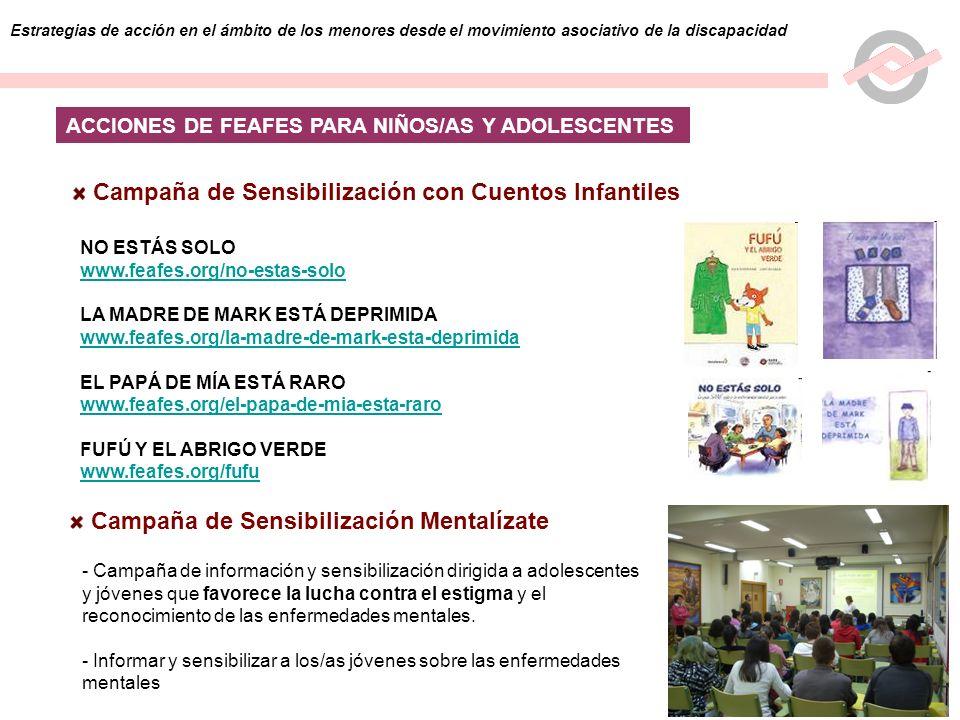 Campaña de Sensibilización con Cuentos Infantiles
