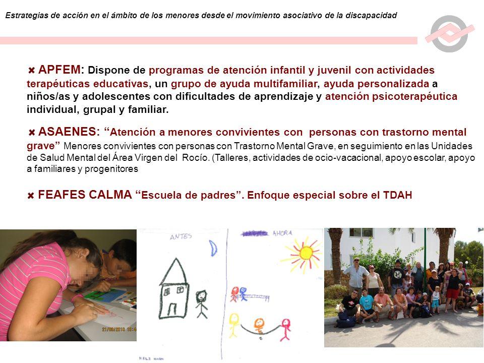 FEAFES CALMA Escuela de padres . Enfoque especial sobre el TDAH