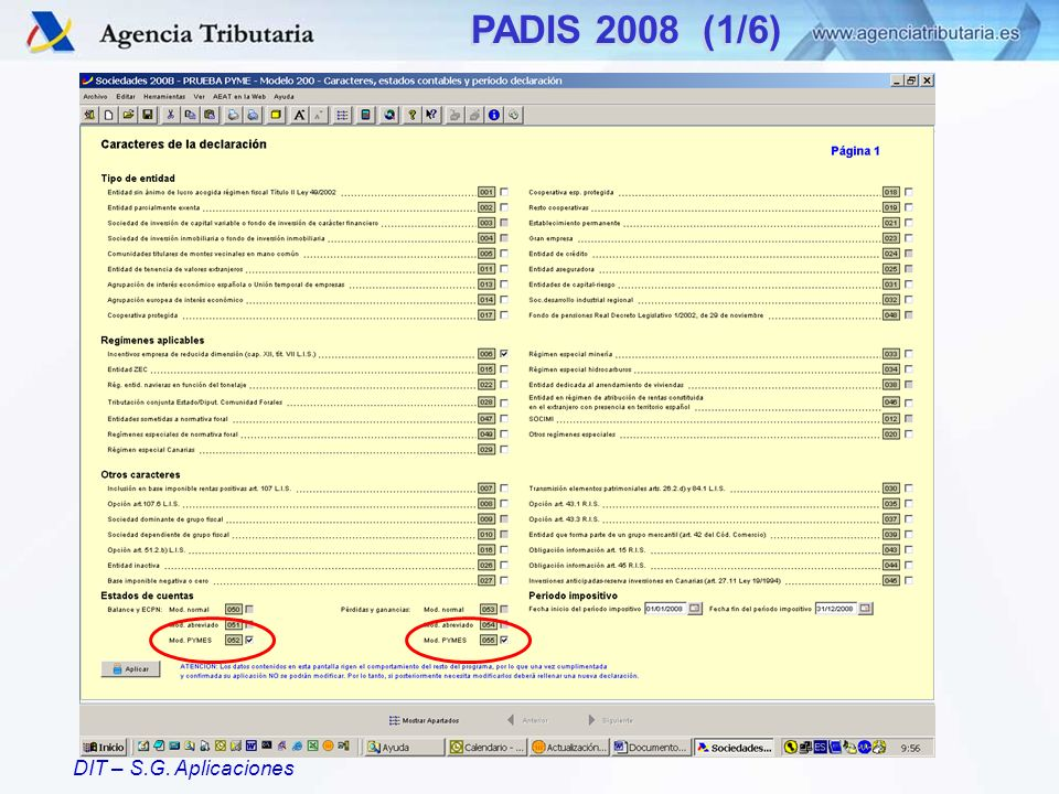 PADIS 2008 (1/6)