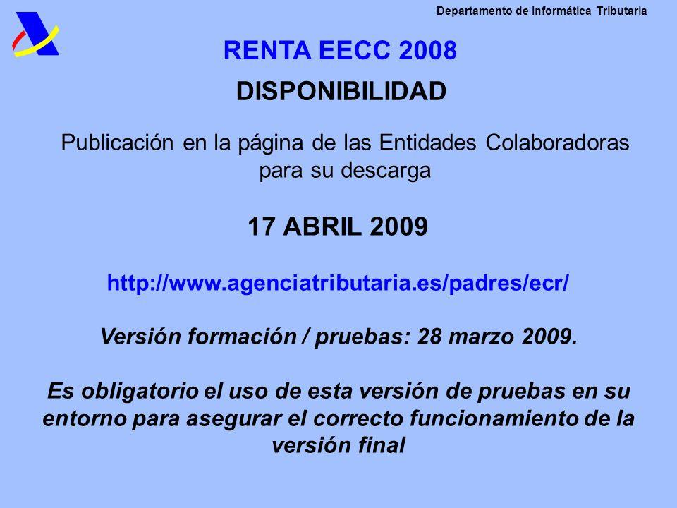 Versión formación / pruebas: 28 marzo 2009.