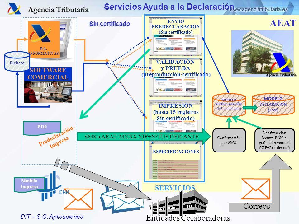 Servicios Ayuda a la Declaración