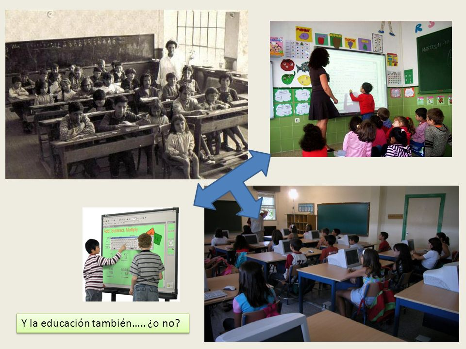 Y la educación también….. ¿o no