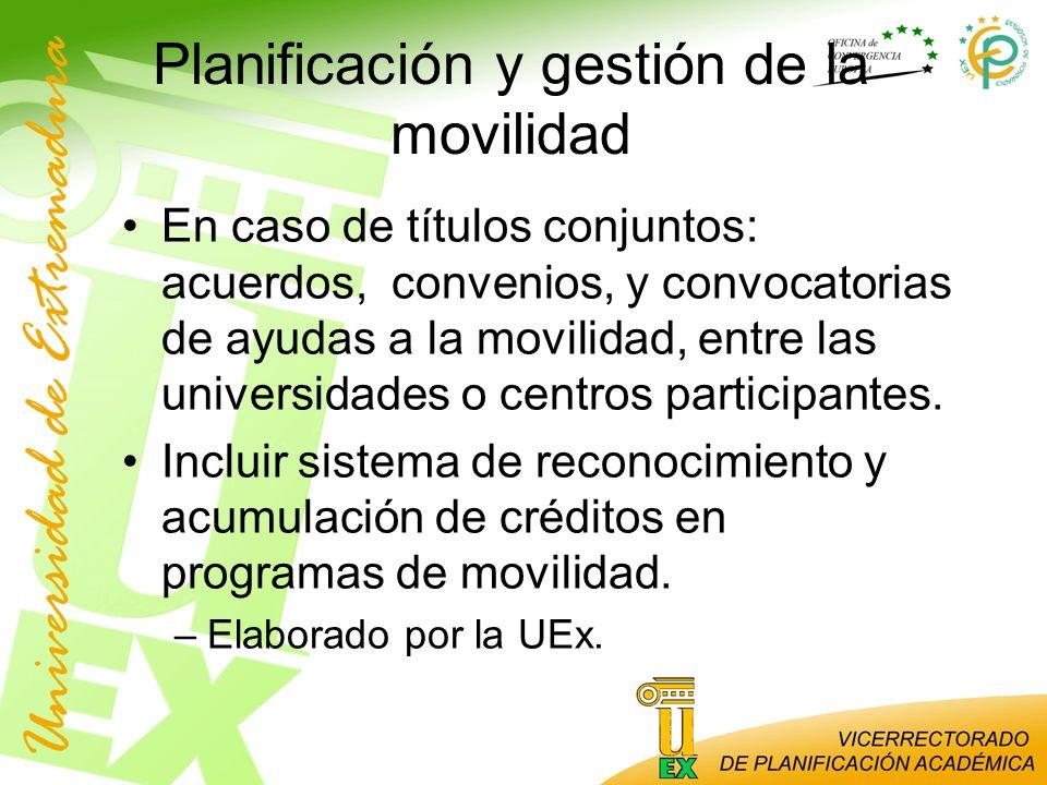 Planificación y gestión de la movilidad