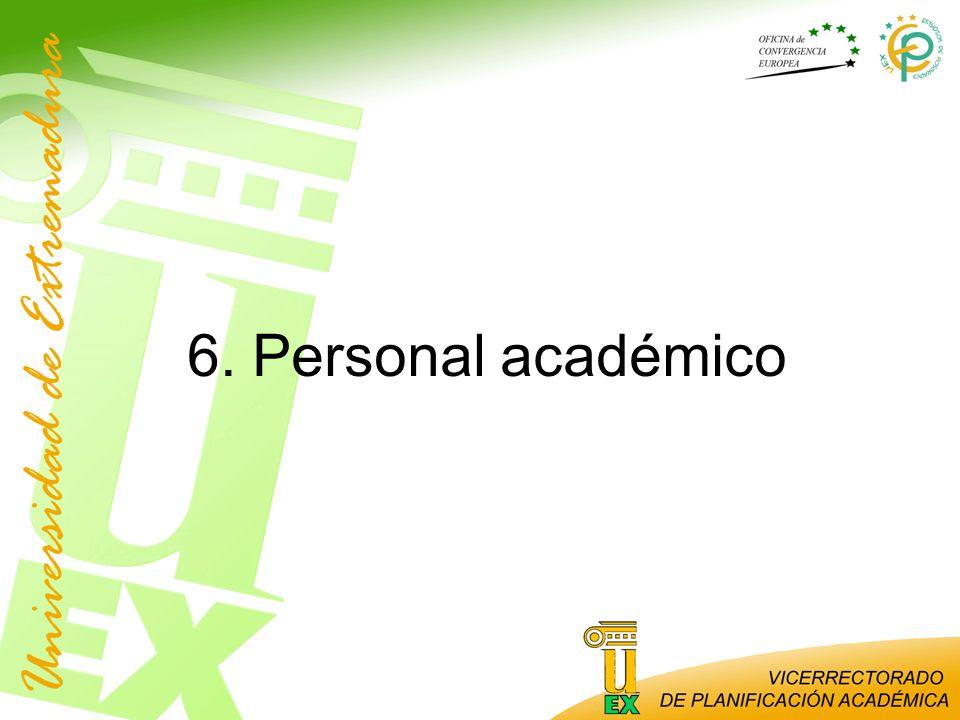 6. Personal académico