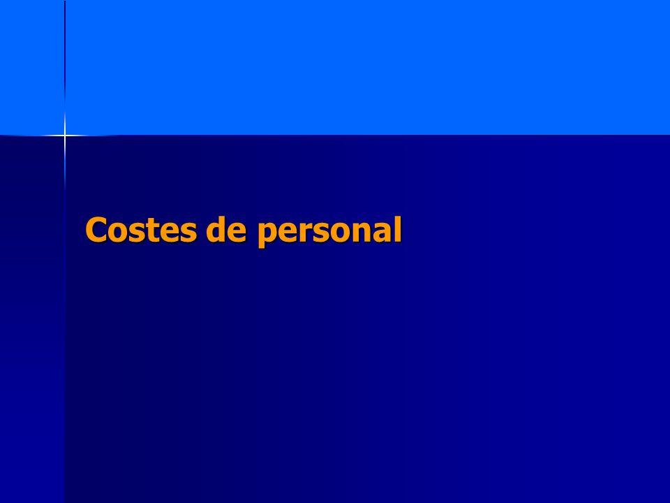 Costes de personal