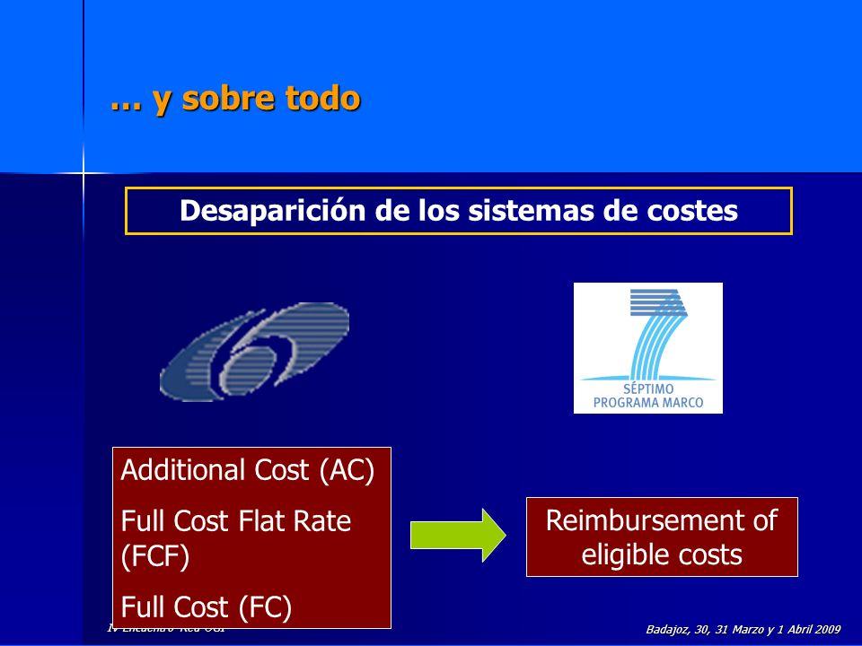 Desaparición de los sistemas de costes