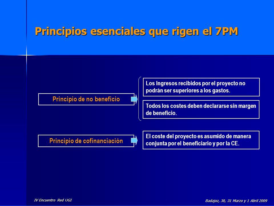 Principios esenciales que rigen el 7PM