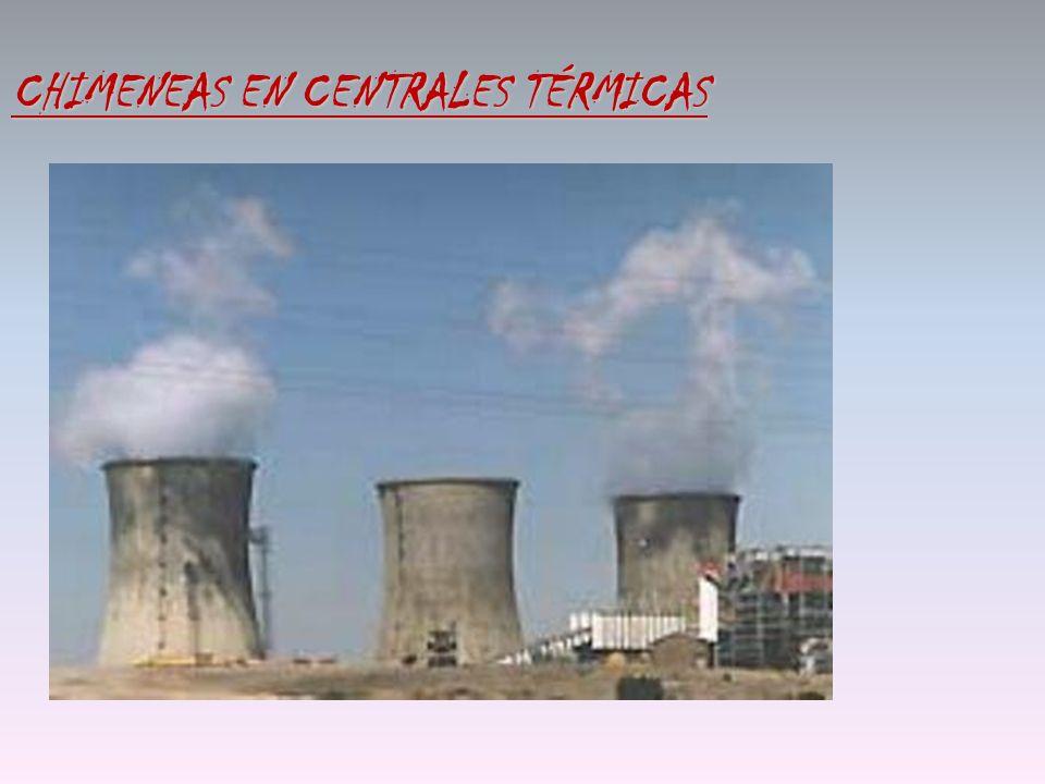 CHIMENEAS EN CENTRALES TÉRMICAS