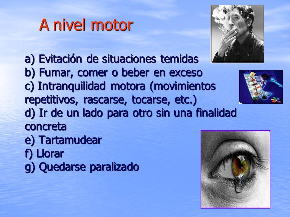 A nivel motor