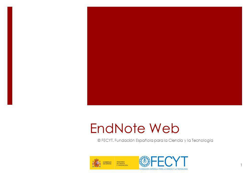 © FECYT. Fundación Española para la Ciencia y la Tecnología