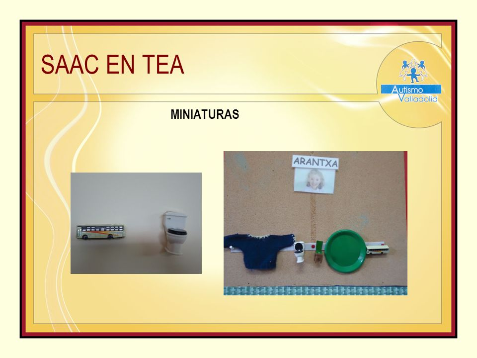 SAAC EN TEA MINIATURAS