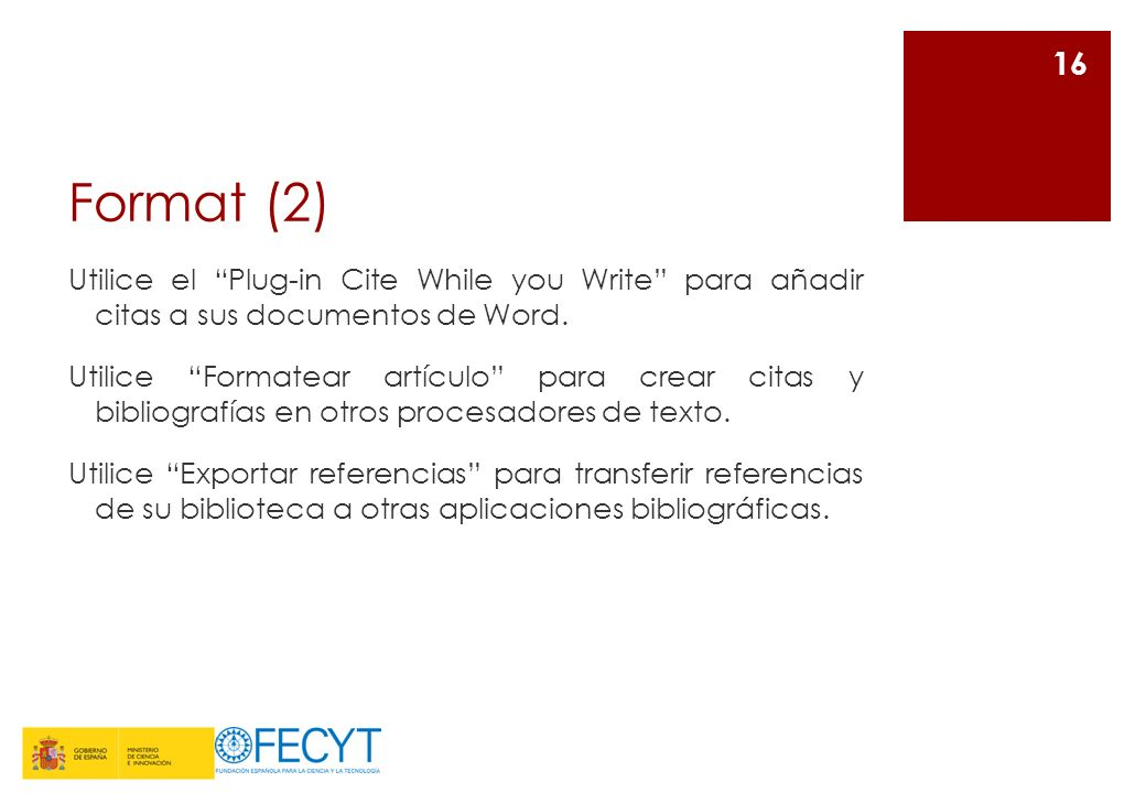 Format (2)